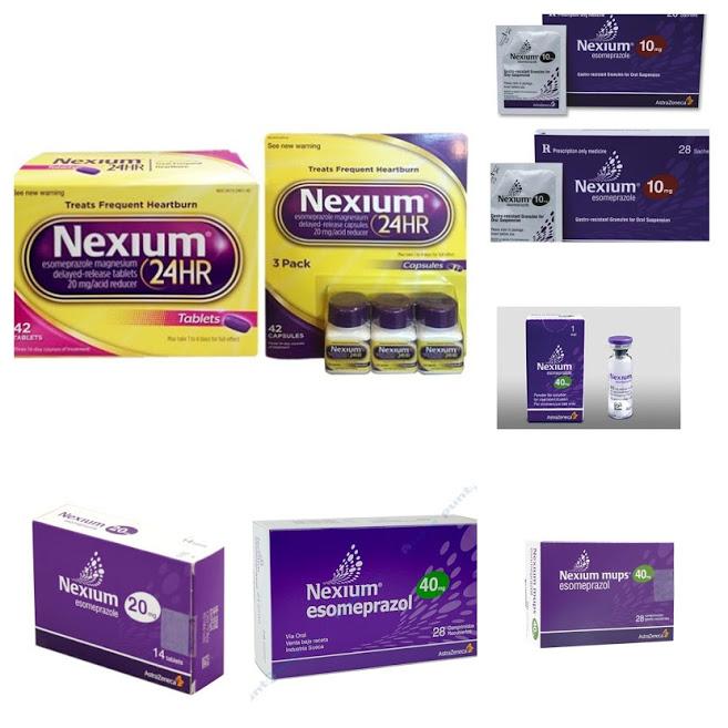 Các loại thuốc nexium