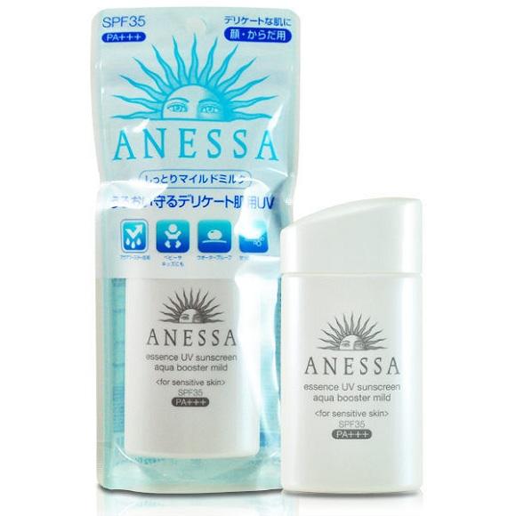 Anessa Essence UV sunscreen aqua booster mild SPF 35+ PA+++