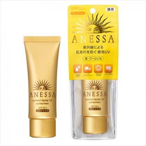 Anessa Perfect Facial UV Sunscreen SPF 50+ PA++++