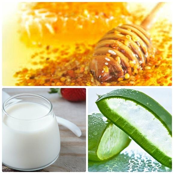 Cách làm trắng da từ sữa chua, nha đam, mật ong