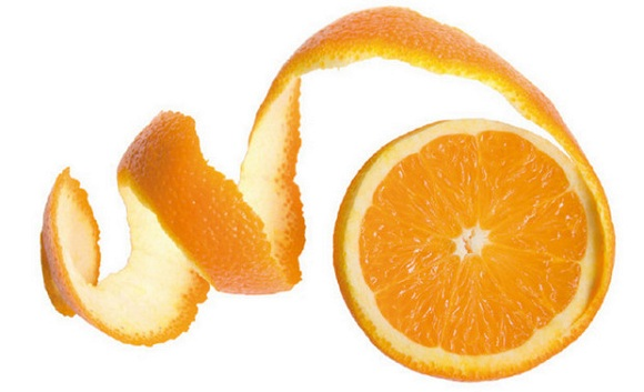 Cách trị mụn với vỏ cam