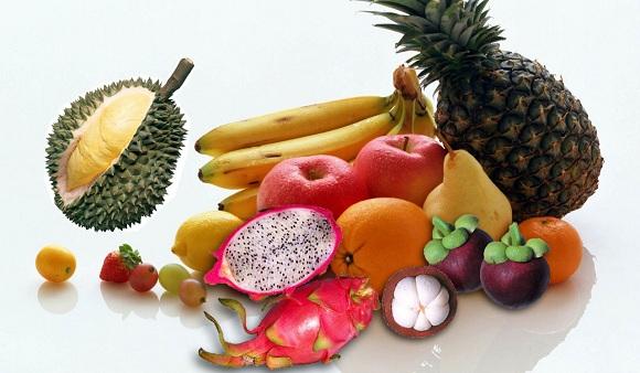 Chế độ ăn luôn phải có trái cây