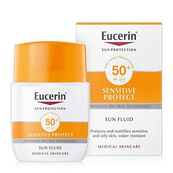 Kem chống nắng Eucerin Sun Fluid Mattifying SPF 50