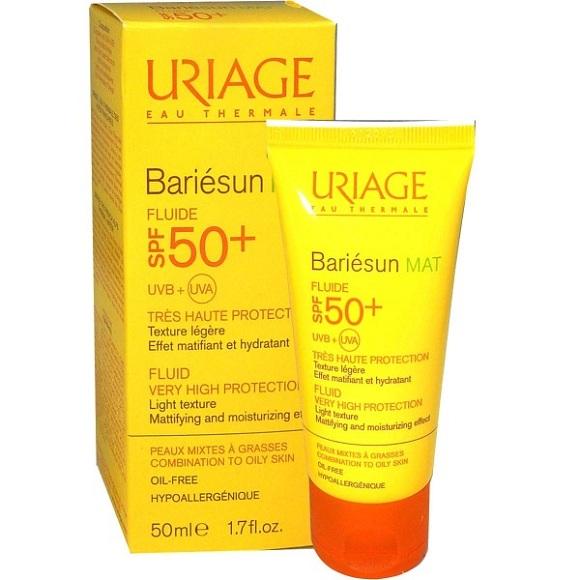 Kem chống nắng Uriage Bariesun MAT Flude SPF50