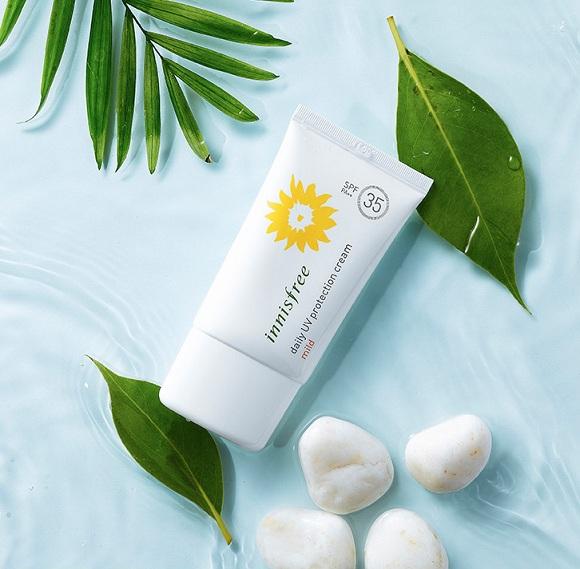 Kem chống nắng hàng ngày Innisfree Daily UV Protection Cream Mild