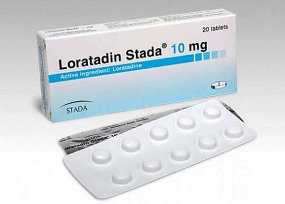 Loratadin điều trị viêm mũi dị ứng, viêm kết mạc dị ứng, ngứa và mày đay liên quan đến histamin (2)