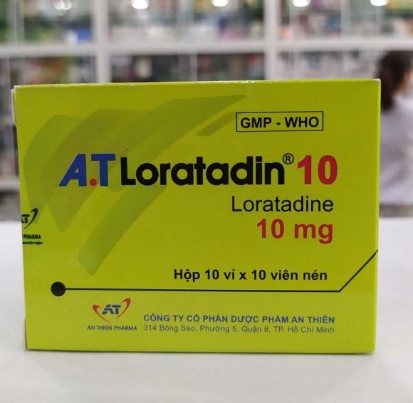 Loratadin điều trị viêm mũi dị ứng, viêm kết mạc dị ứng, ngứa và mày đay liên quan đến histamin (4)