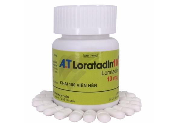 Loratadin điều trị viêm mũi dị ứng, viêm kết mạc dị ứng, ngứa và mày đay liên quan đến histamin (5)