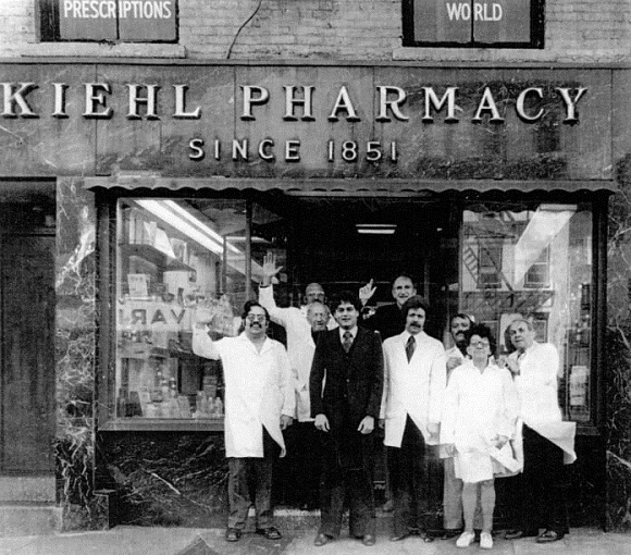 Nhà thuốc Kiehl's là nền tảng của thương hiệu Kiehl's