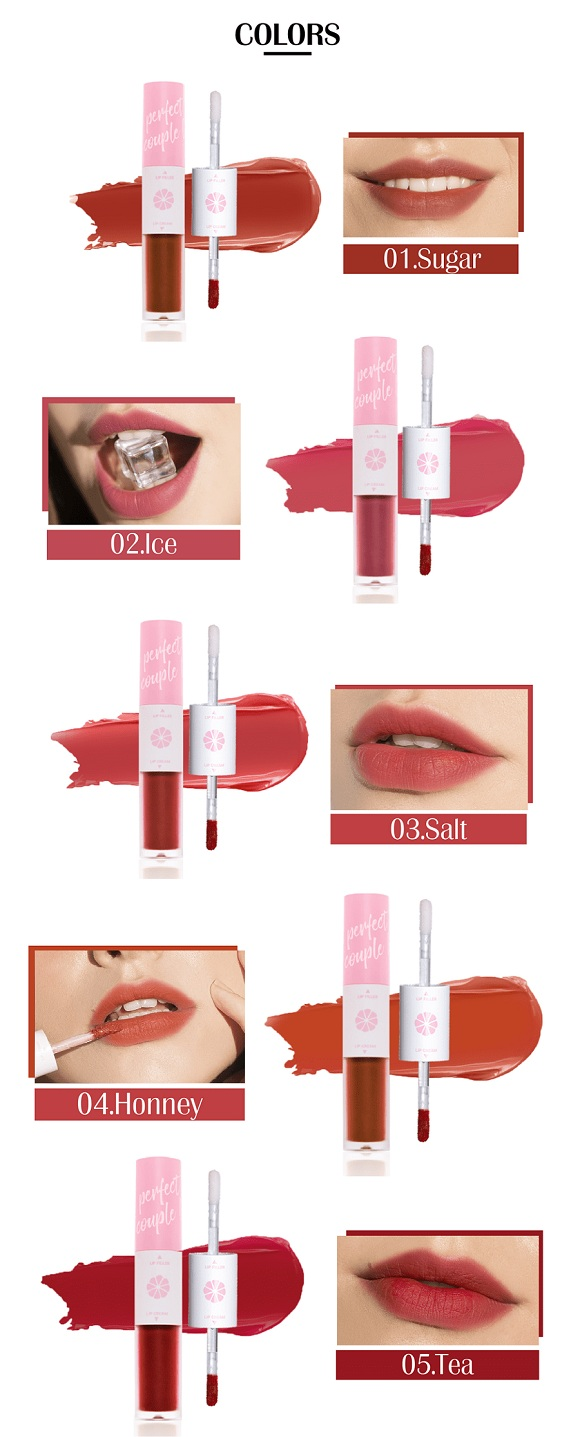 Son kem lì 2 đầu Lemonade Perfect Couple Lip