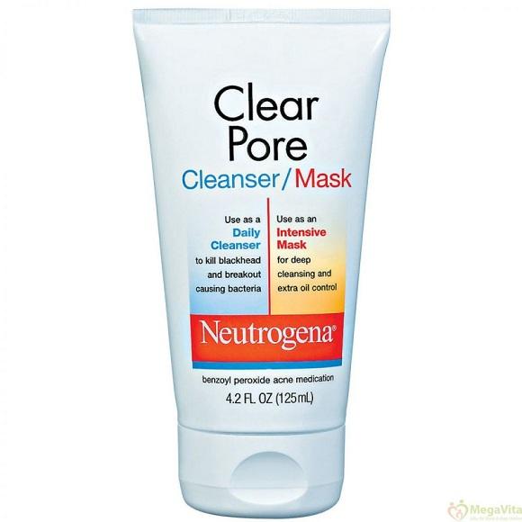 Sữa rữa mặt Neutrogena Clear Pore Cleanser/Mask