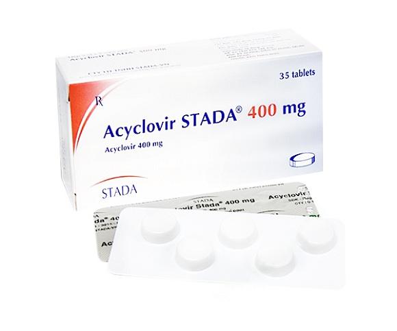 Thuốc Acyclovir dự phòng hoặc điều trị Herpes simplex trên da và niêm mạc (2)