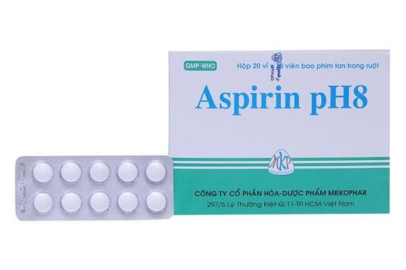Thuốc Aspirin điều trị giảm đau, hạ sốt, chống viêm (2)