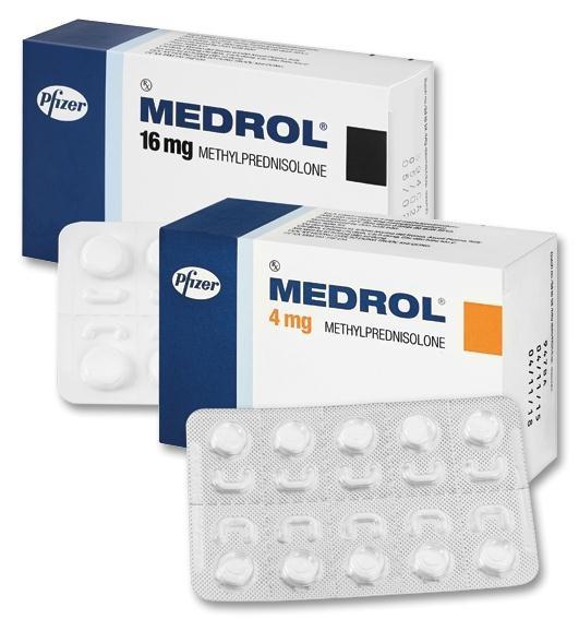 Thuốc Medrol có tác dụng điều trị một số bệnh như viêm đường hô hấp, viêm khớp, viêm da dị ứng (1)