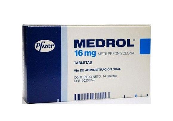 Thuốc Medrol có tác dụng điều trị một số bệnh như viêm đường hô hấp, viêm khớp, viêm da dị ứng (2)