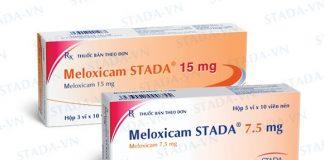 Thuốc Meloxicam có tác dụng giảm đau, hạ sốt, chống viêm và chống kết tập tiểu cầu (1)