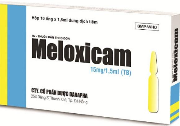 Thuốc Meloxicam có tác dụng giảm đau, hạ sốt, chống viêm và chống kết tập tiểu cầu (4)