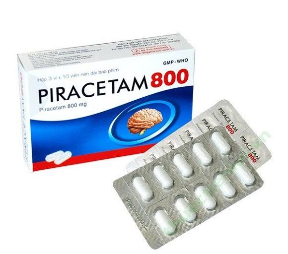Thuốc Piracetam điều trị sự suy giảm chức năng cơ thể liên quan đến thần kinh (2)