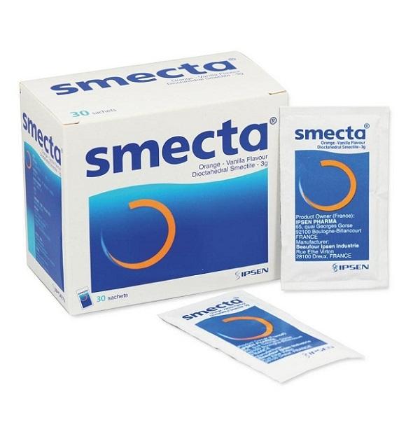 Thuốc Smecta có tác dụng hỗ trợ, cải thiện triệu chứng tiêu chảy (1)