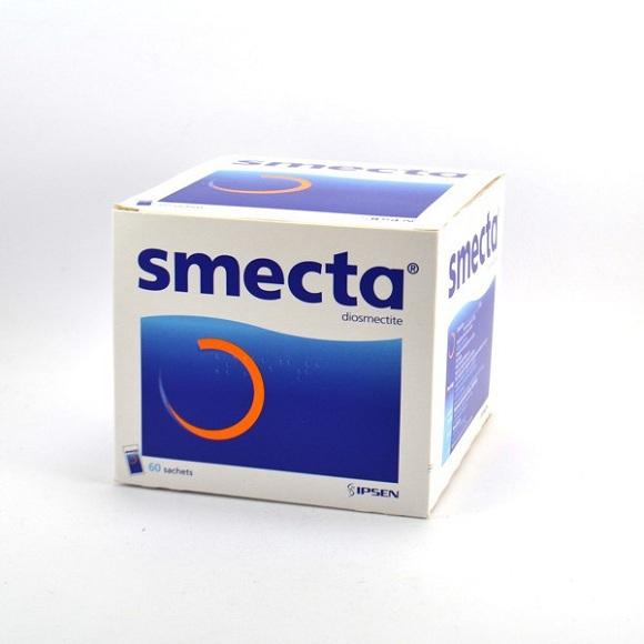 Thuốc Smecta có tác dụng hỗ trợ, cải thiện triệu chứng tiêu chảy (2)