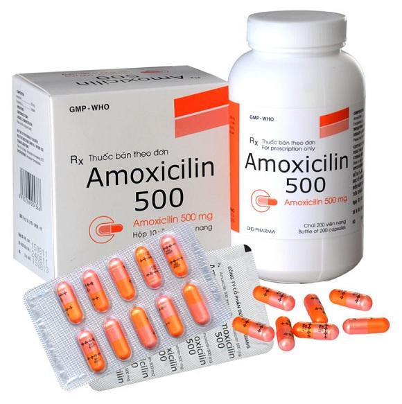 Thuốc kháng sinh Amoxicillin được sử dụng trong điều trị nhiễm trùng (2)
