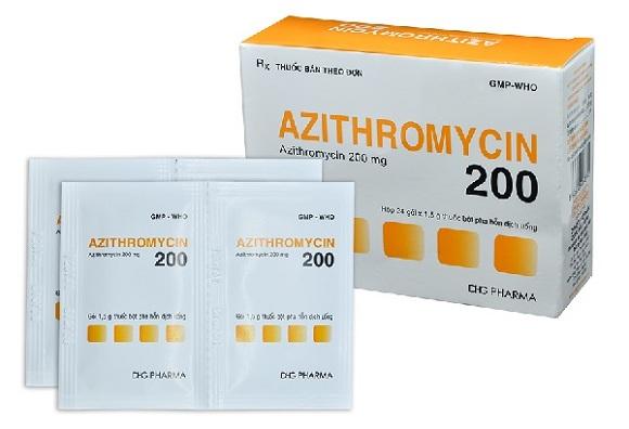 Azithromycin là thuốc kháng sinh, có khả năng ức chế sự phát triển của vi khuẩn (5)