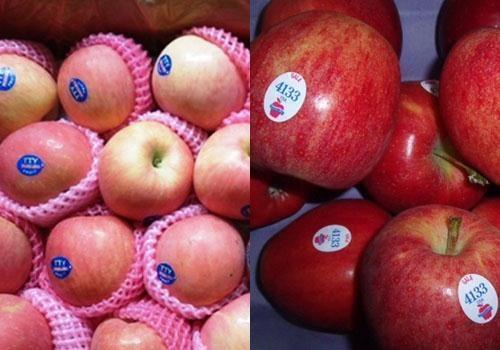 Cách phân biệt táo Trung Quốc và táo Mỹ (7)