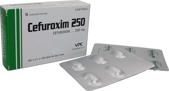 Cefuroxime là thuốc kháng sinh được dùng để ức chế sự phát triển của vi khuẩn gây bệnh, chống nhiễm trùng sau phẫu thuật (5)