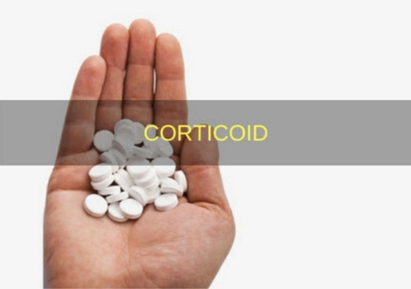 Corticoid có tính kháng viêm. Nên làm giảm các dấu hiệu và triệu chứng của tình trạng viêm (1)
