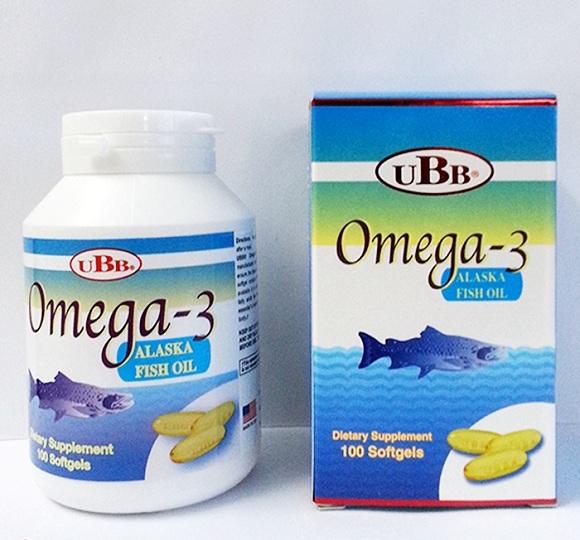 Dầu cá UBB® Omega 3 Alaska Fish Oil (8)