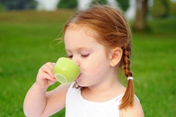 Không nên cho trẻ nhỏ dưới 3 tuổi uống nước trà xanh (6)