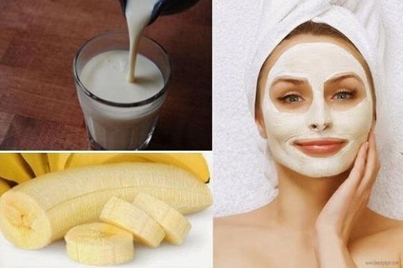 Mặt nạ chuối có tác dụng giúp da bạn trở nên mềm mại, se khít lỗ chân lông và hiệu quả làm sáng da (6)