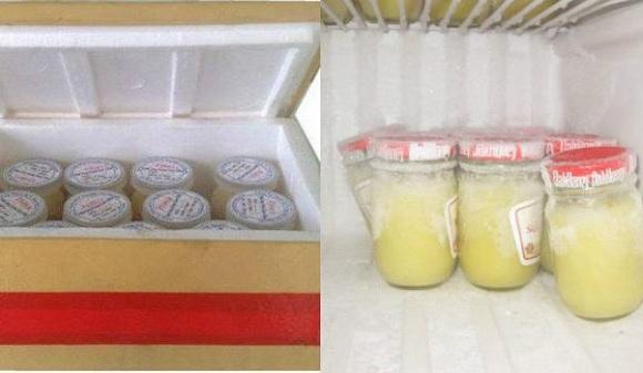 Nên bảo quản sữa ong chúa lạnh (6)