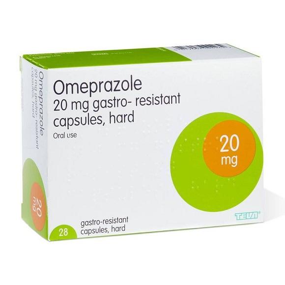 Omeprazole điều trị bệnh lý do dạ dày tăng tiết axit (2)