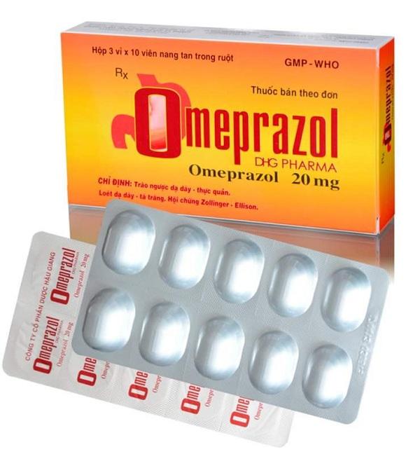 Omeprazole điều trị bệnh lý do dạ dày tăng tiết axit (3)