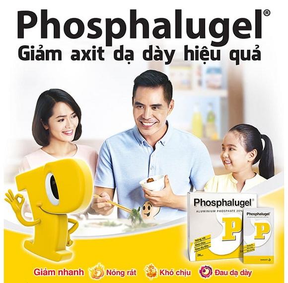 Phosphalugel được dùng cho cả người lớn và trẻ em (2)