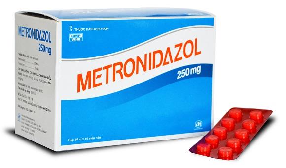Thuốc Metronidazol điều trị nhiễm khuẩn nặng do vi khuẩn kỵ khí, nhiễm khuẩn ổ bụng, nhiễm khuẩn huyết (2)