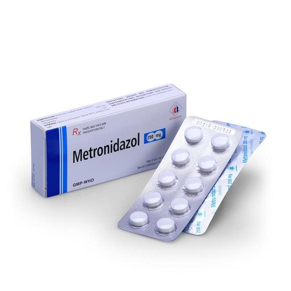 Thuốc Metronidazol điều trị nhiễm khuẩn nặng do vi khuẩn kỵ khí, nhiễm khuẩn ổ bụng, nhiễm khuẩn huyết (3)