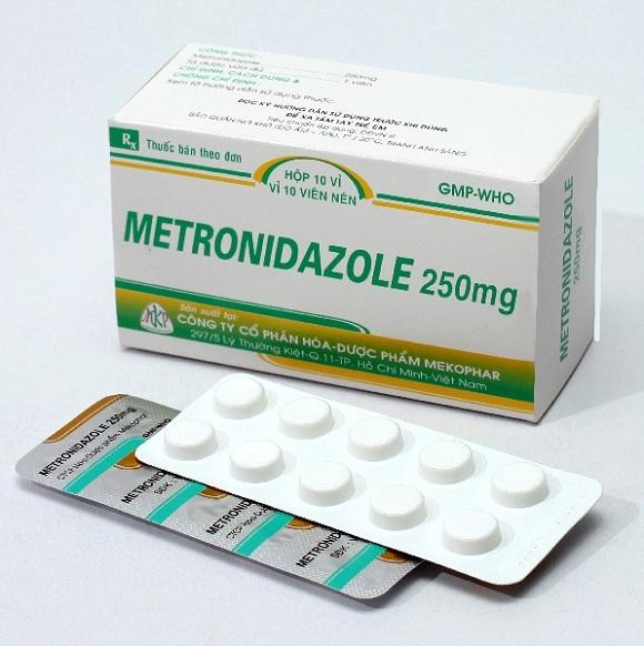 Thuốc Metronidazol điều trị nhiễm khuẩn nặng do vi khuẩn kỵ khí, nhiễm khuẩn ổ bụng, nhiễm khuẩn huyết (4)