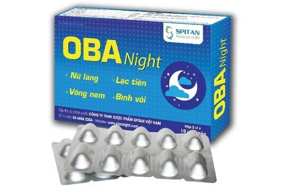 Thuốc trị mất ngủ bằng thảo dược OBA Night (9)