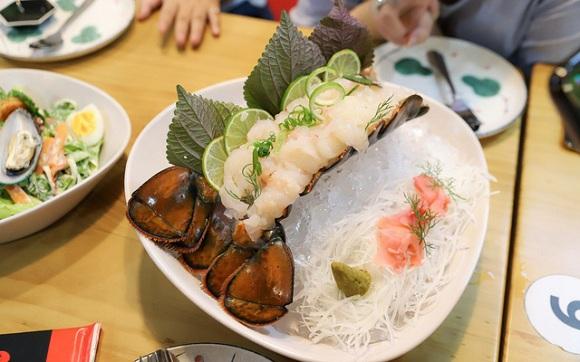 Tôm hùm sashimi (5)