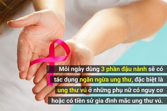 Đậu nành giúp ngăn ngừa nhiều loại ung thư, đặc biệt ung thư vú (3)